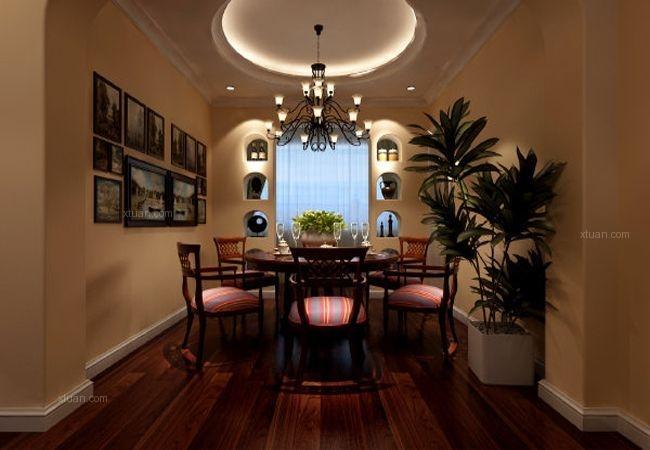 中国铁建国际城 三居室 新古典风格