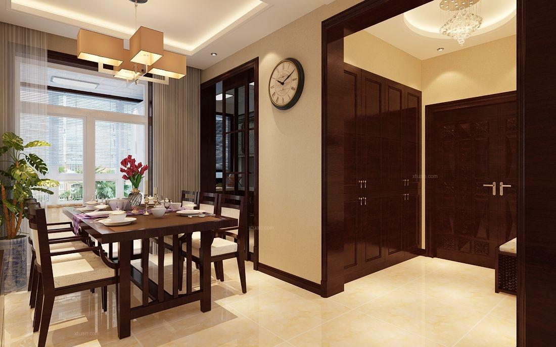 两室一厅中式风格餐厅