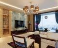 海富第五大道-现代中式风格-哈尔滨麻雀装饰公司