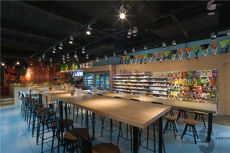 现代简约超市