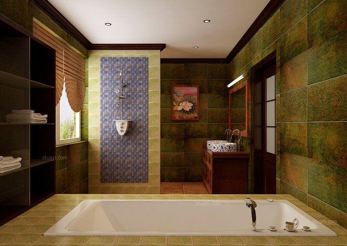三居室新古典卫生间