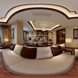 重庆渝北花园洋房装修设计公司|招商花园城装修设计