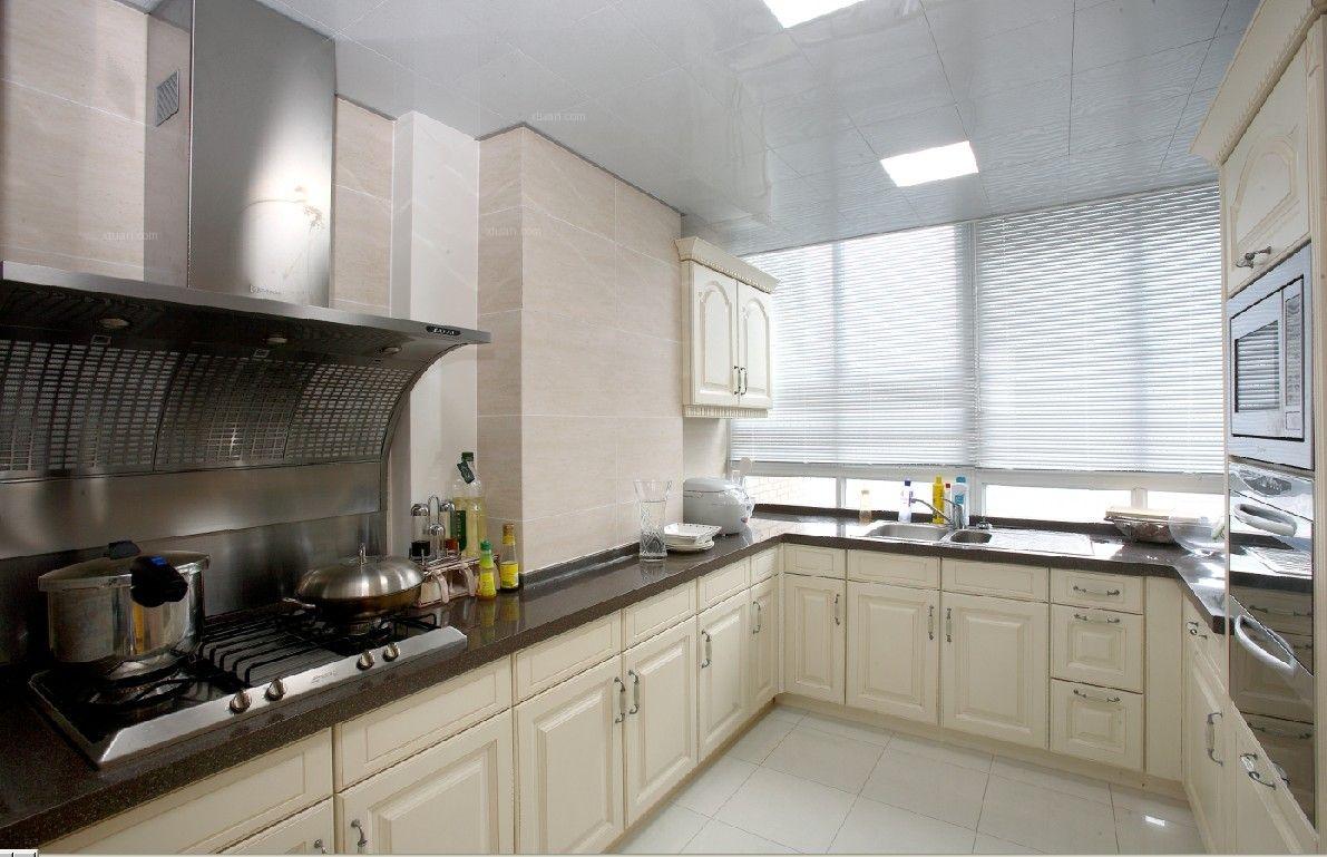 三居室法式风格厨房图片