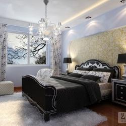财信圣堤亚纳83平方两室两厅现代简约装修案例效果图