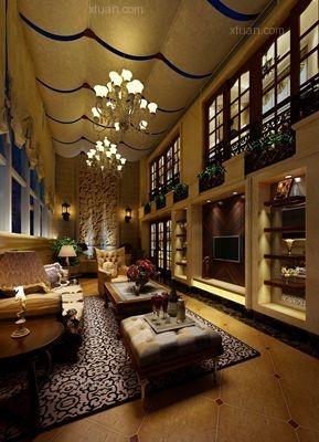 点石家装 美式风格案例欣赏   ——欧城桐梓林