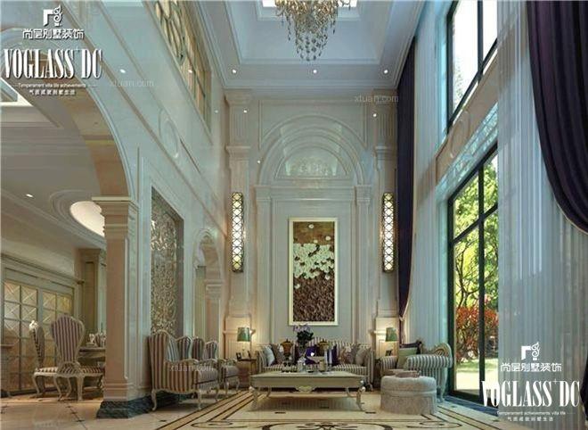 上海尚层别墅装饰万科有山简欧风格案例