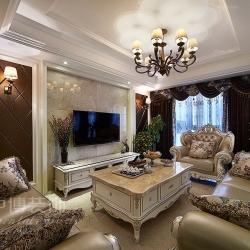 泊林印象138方跃层欧式居家风格都市样板生活