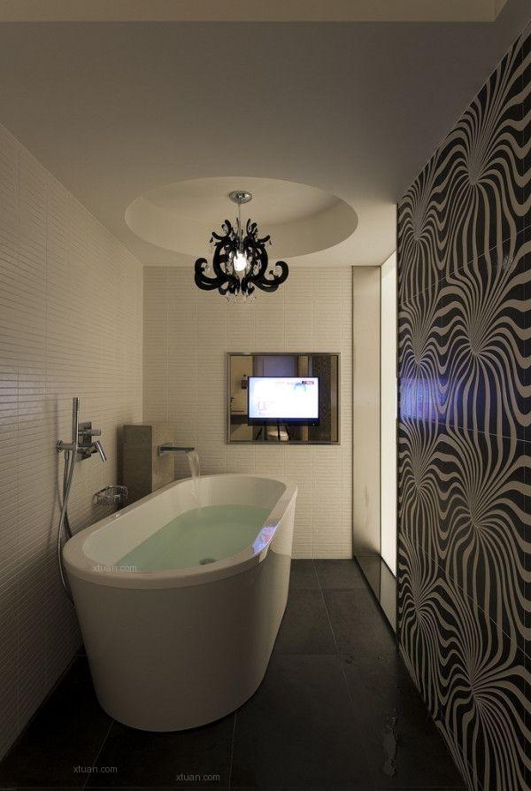 四居室现代简约卫生间