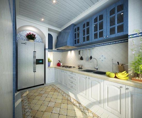 三居室地中海风格厨房厨具