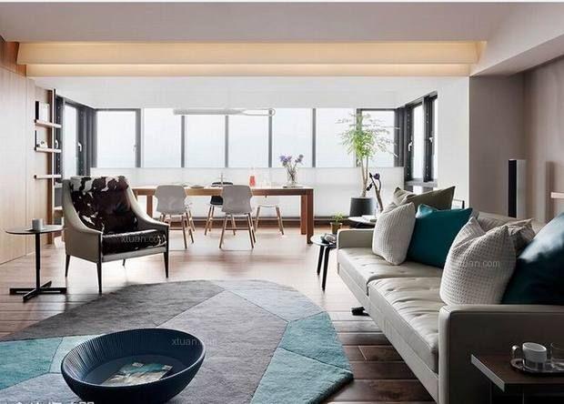 天洋城2期设计82平米设计