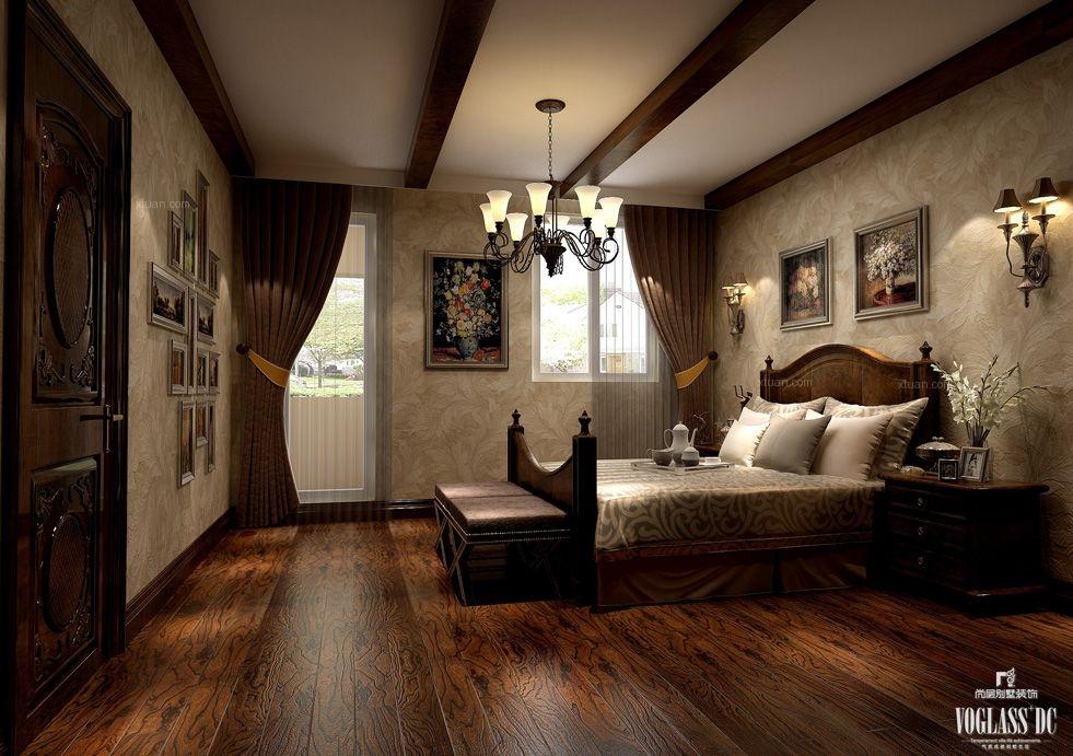别墅混搭风格卧室