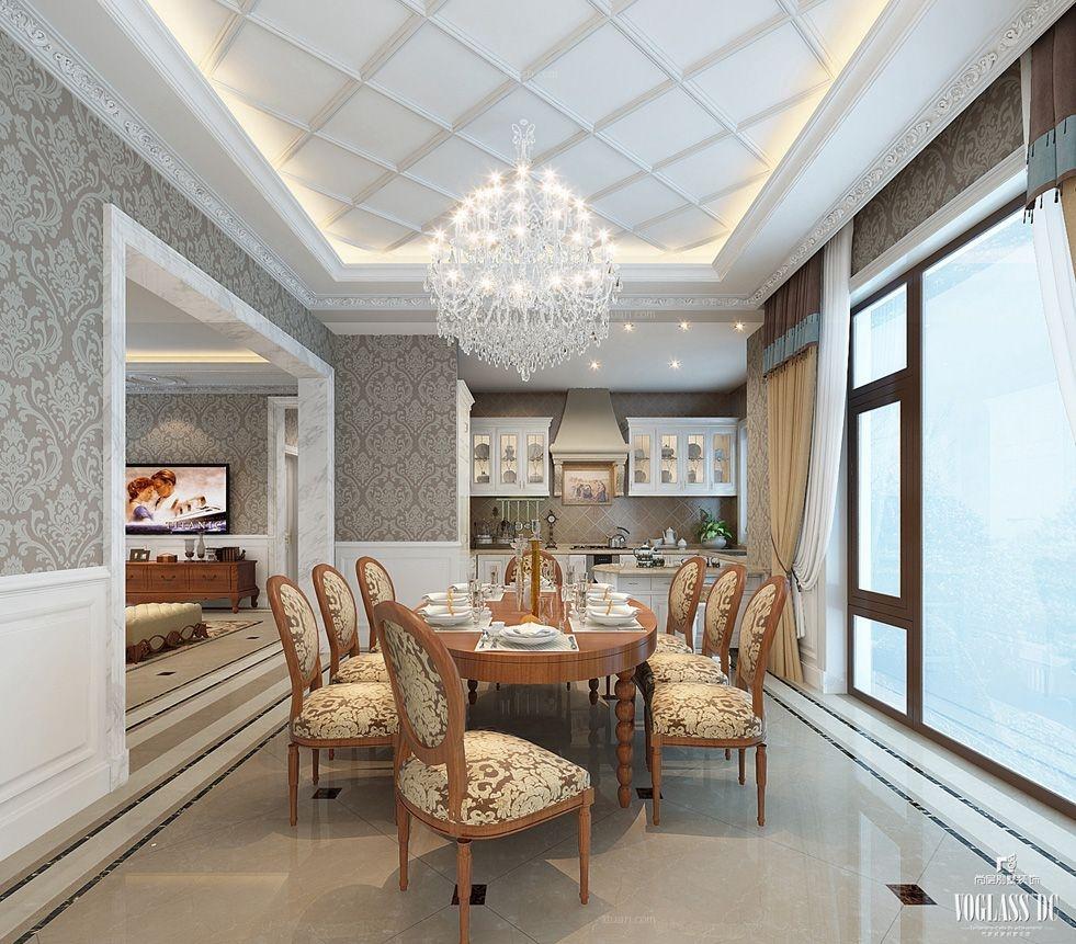 别墅现代简约餐厅