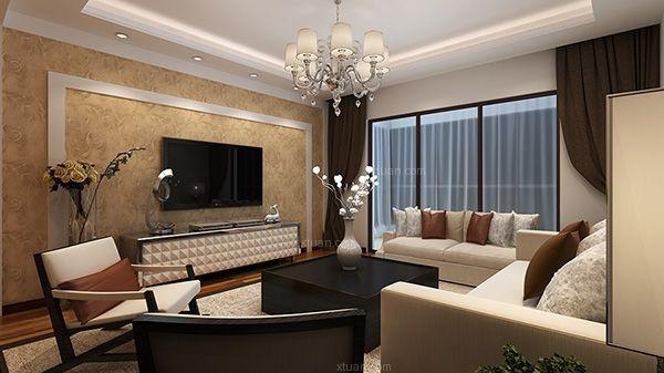 丹槿园133平米4室2厅2卫现代风格