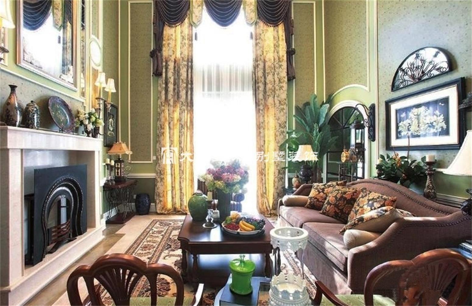 田园风光 自然舒适美式新古典别墅设计