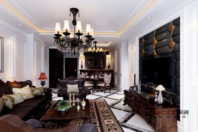 天津实创装饰—新古典的欧式,高雅的享受