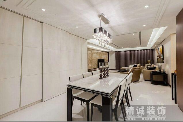 北京精诚装饰-----181.5平方米住宅客厅装修效果