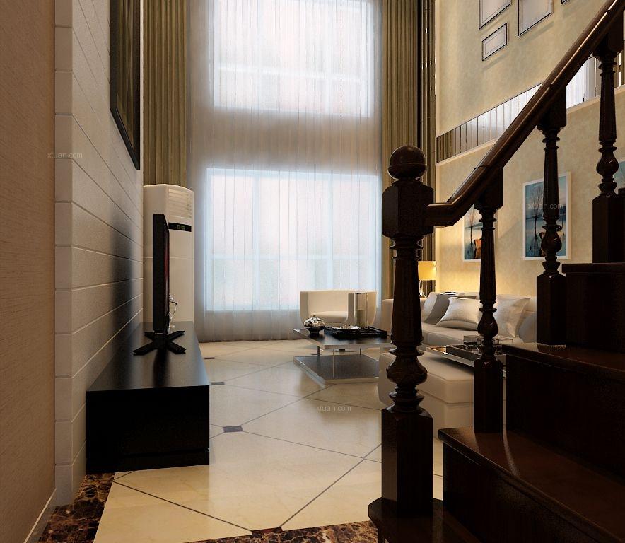 三室一厅现代简约地下室