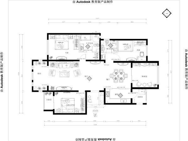【北京阔达装饰】旭辉御府小区简约欧式风格美宅
