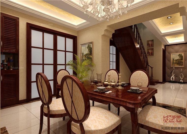 LOFT中式风格餐厅