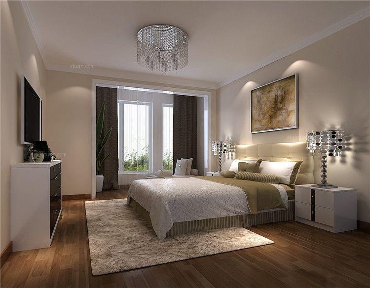 单身公寓简欧风格小卧室