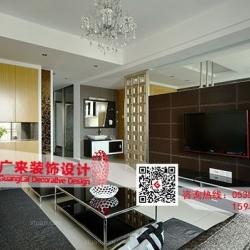 【烟台广来装饰】东尚蓝湾三居室现代简约装修案例