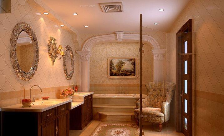 三居室欧式风格卫生间