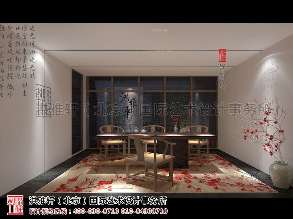 中式风格茶馆_简约中式风格禅茶室设计--古雅,幽静