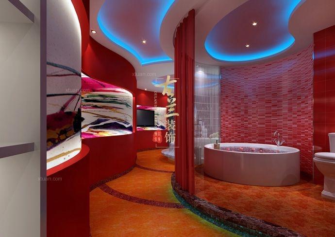 成都酒店案例——爱情海主题酒店设计装修效果图