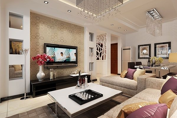 银杏金川60平米一室两厅一卫现代风格