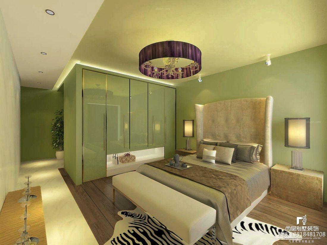 别墅现代简约卧室