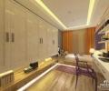 九龙仓兰宫260平下叠边户型设计方案