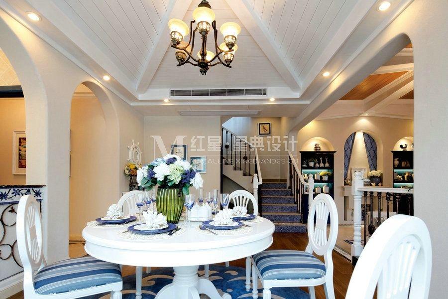 别墅地中海风格餐厅