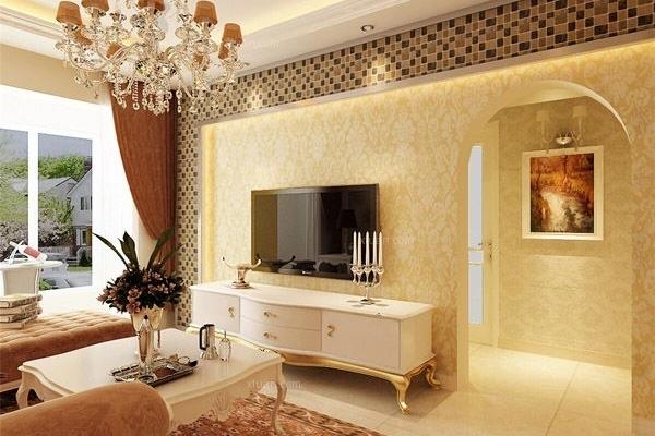 德润朗悦湾85平米2室2厅1卫欧式风格