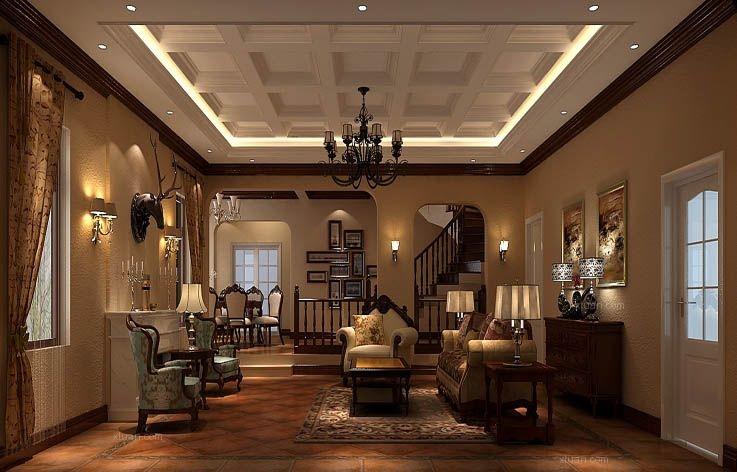 别墅托斯卡纳客厅