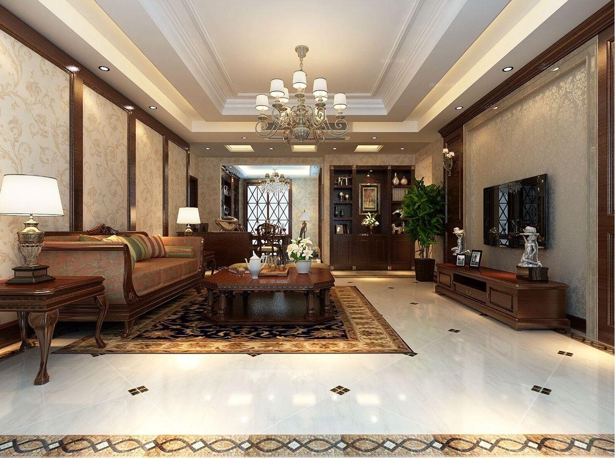 【西安城市人家】紫薇曲江意境:宽大、舒适、杂糅的美式风格