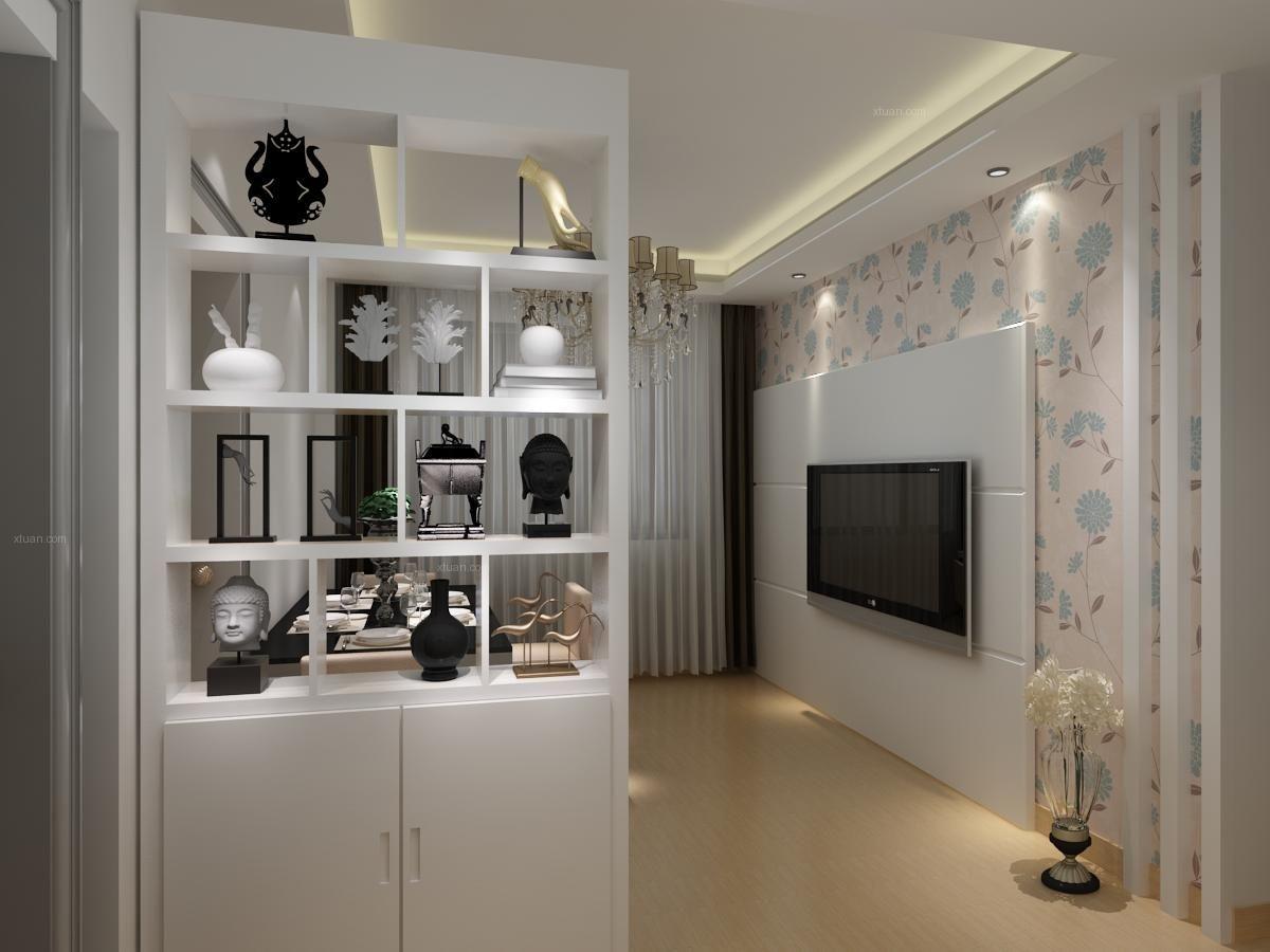 两室一厅现代简约玄关