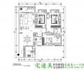 【建政路测绘局单位房】113平米中式风格9.73万