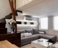 同进理想城41平loft现代简约空间设计