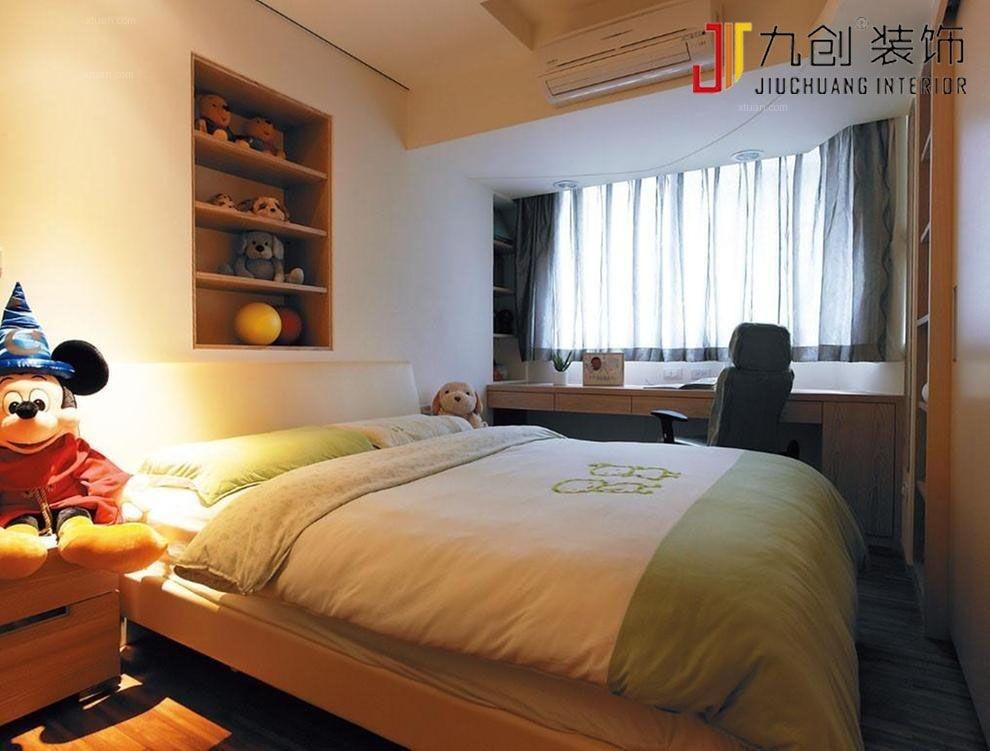两居室日式风格卧室软装