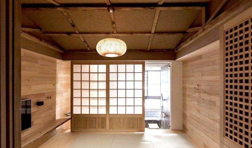 雅致名园-75平米-小户型-日式风格