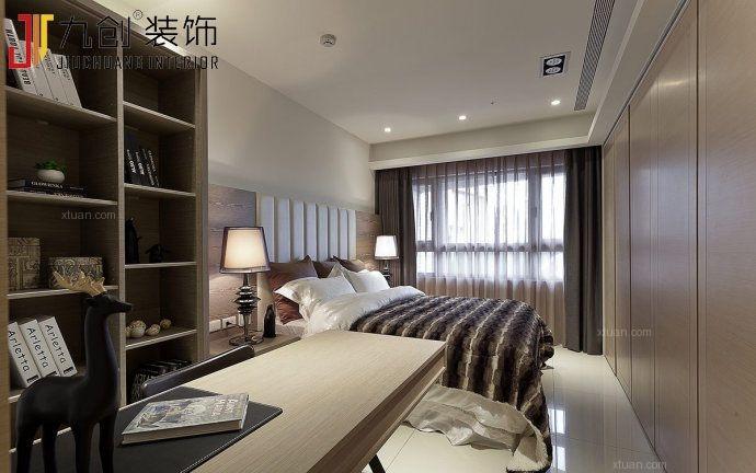 两室两厅韩式风格主卧室软装
