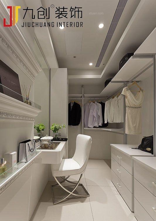 两室两厅韩式风格衣帽间软装