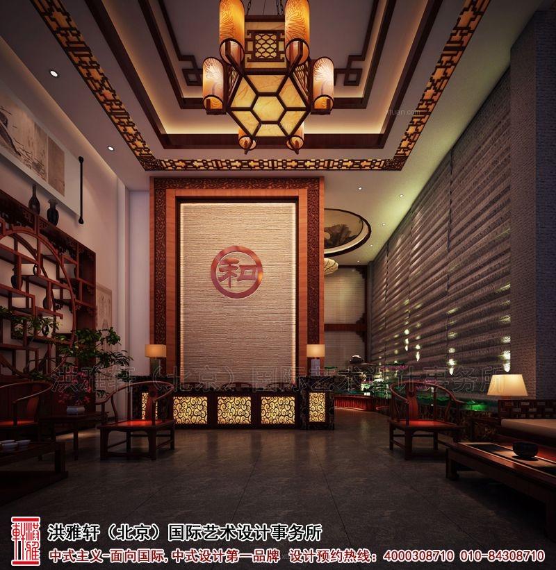 沧州中医理疗会所古典中式装修