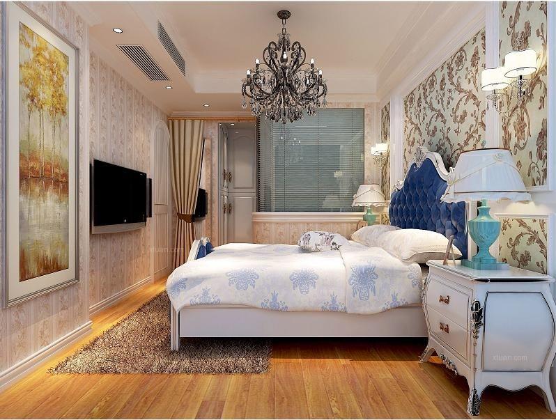 海域香廷-法式田园-一室两厅