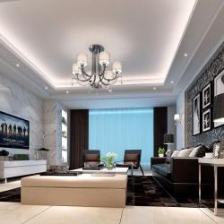 城开国际学园-现代风格-三居室