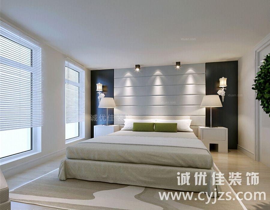 两居室现代简约卧室