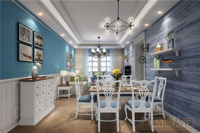 两居室混搭风格餐厅