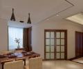 中央香榭-现代中式风格-三房