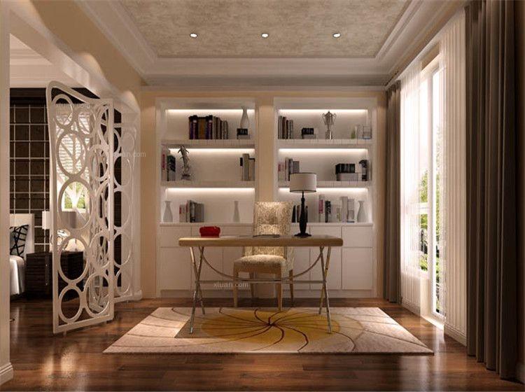 独栋别墅现代简约书房