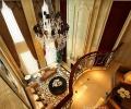 济南中海奥龙官邸别墅400平-欧式新古典风格装修设计案例赏析